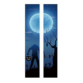 YANGFAN Halloween Removable PVC Waterproof Headless Zombies DIY Wall Stickers