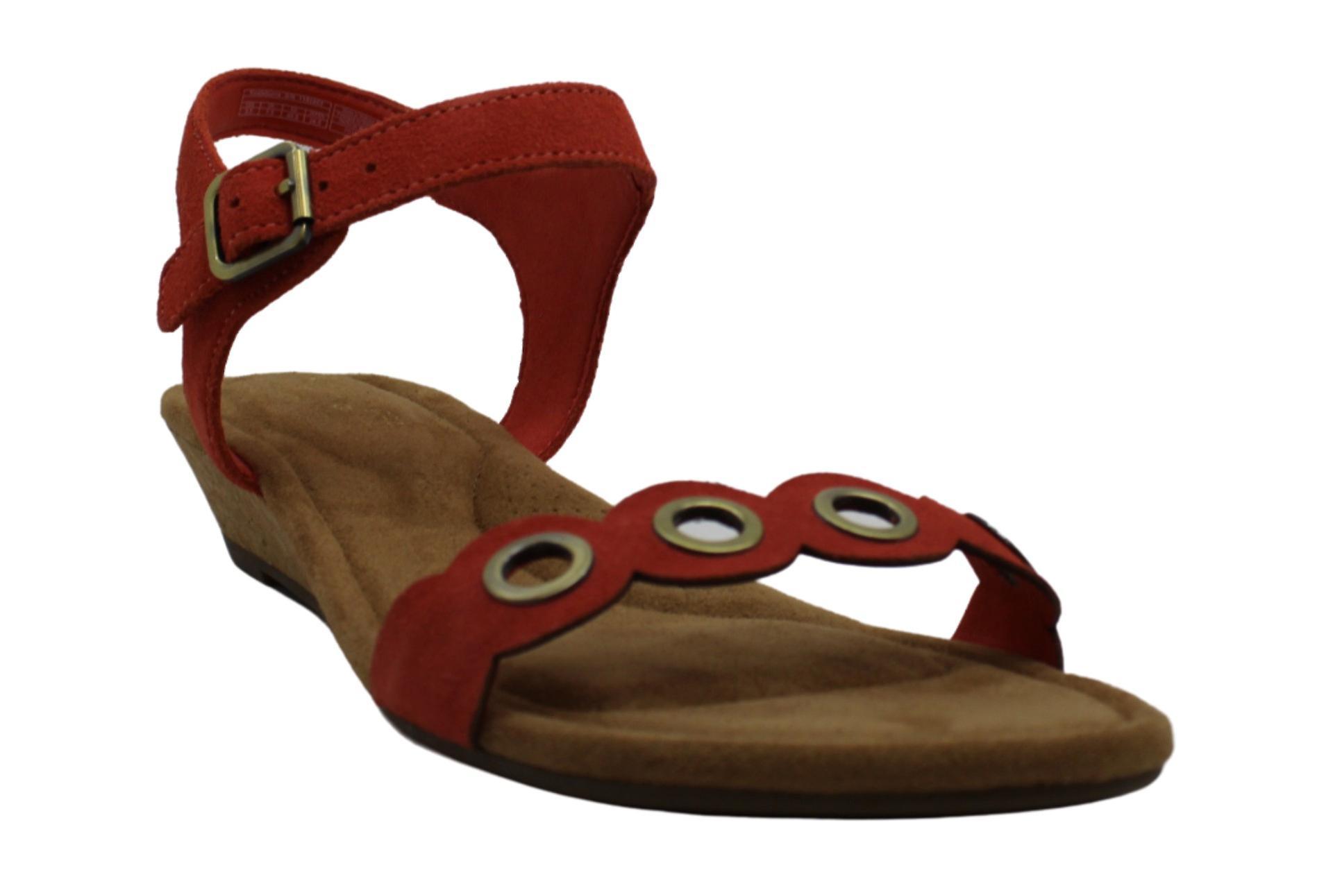 Koolaburra by UGG Women's Leira Heeled Sandal, Ember Glow, 09.5 B US