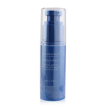 Quick refiner leave on gel aha exfoliator with glycolic + multi fruit acids for all skin types, except sensitive 253252 30ml/1oz