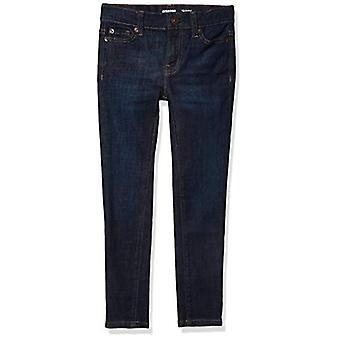 Essentials Little Girls' Skinny Jeans, Fiona/Dark Wash, 5R