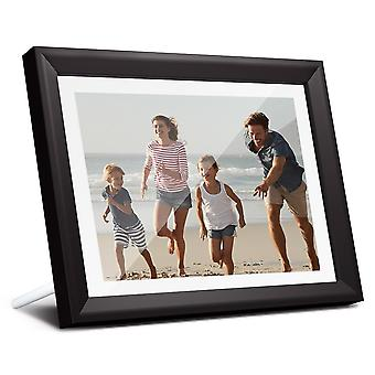 Dragon Touch Digital Photo Frame Classic10 Wifi 10 Inch Led Ips Touch Screen Hd Display Picture Frame Share Photos Via App Email (classic 10)