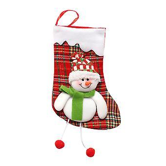 YANGFAN عيد الميلاد ديكور جوارب شنقا