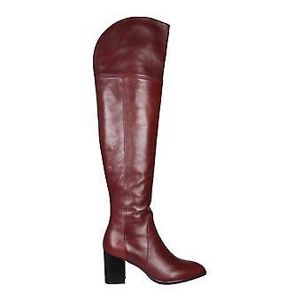 Stuart Weitzman Raylenesrnbrk Women's Burgundy Leather Boots