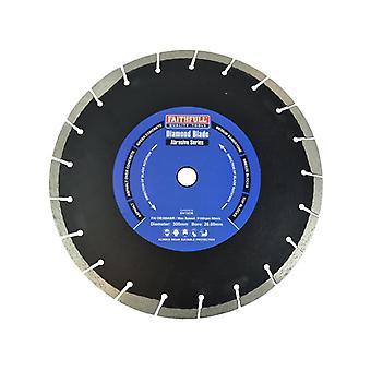 Faithfull Abrasive Diamond Blade 300 x 20mm SVA8030020