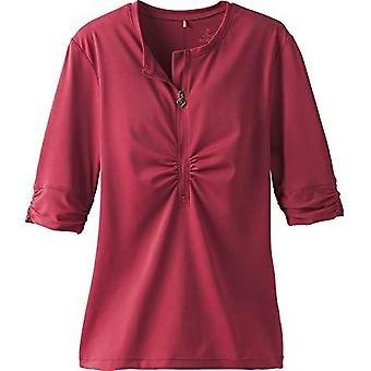 PrAna Women Perry Short Sleeve Sun Top Rusted Roof SM