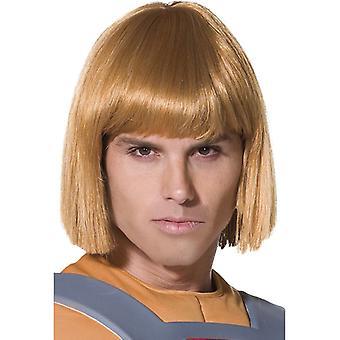 On muž majster vesmíru Heman WIG Original Red Blonde