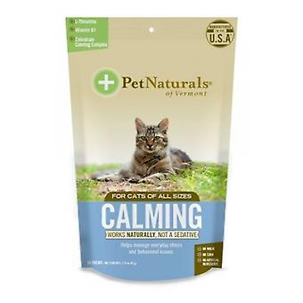 Pet Naturals a Vermont nyugtató kiegészítők macskák, 30 Rág