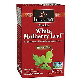 Bravo Tea & Herbs Absolute White Mulberry Leaf Tea, 20 bags
