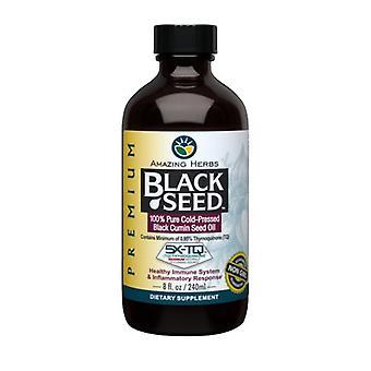 Erstaunliche Kräuter schwarz Samenöl, 8 Oz