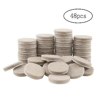 Round Thicker Felt Furniture Pads For Hard Surfaces Floor Protectors