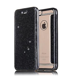 Leather Case for Samsung Galaxy S8+/ S8 Plus Black honghaowei-524