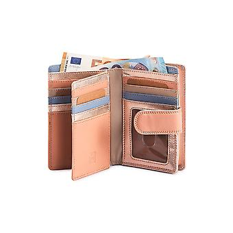 Primehide Leather Womens Notecase Wallet RFID Blocking Purse Ladies 8080