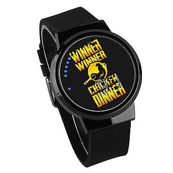 Waterdichte Lichtgevende LED Digital Touch Children horloge - PUBG #14