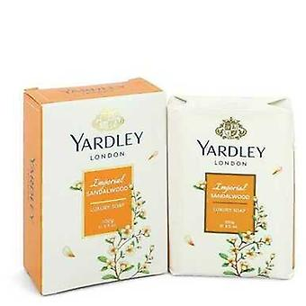 Yardley London Soaps By Yardley London Imperial Sandalwood Luxury Soap 3.5 Oz (women) V728-550758