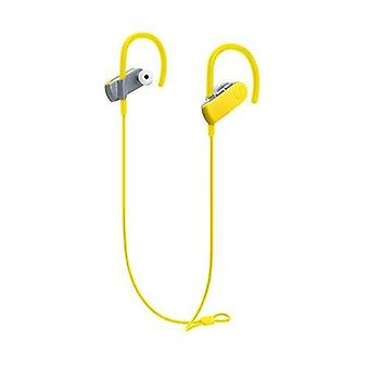 Audio-technica ath-sport50btbk sonicsport bluetooth trådløse in-ear hodetelefoner, gul