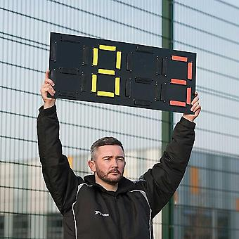 Precision Training Coaching Sports Football Pro Substitutes Number Board