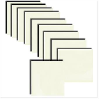 10 Quarzo Pearlescent Square Card Insert 140 x 140