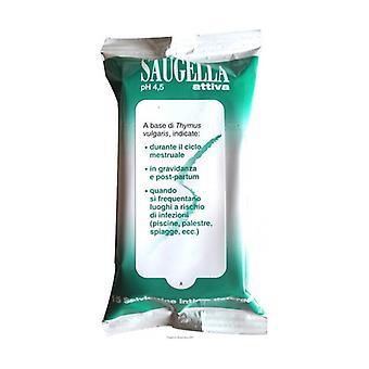 Saugella Activates Wipes 15 units