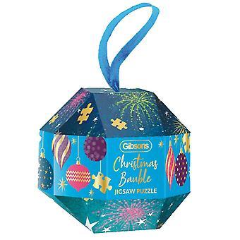 Gibsons Puzzel Kerst kerstballen 200 stuks