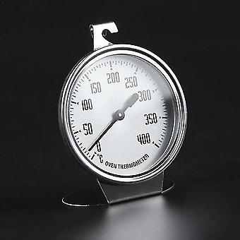0 - 400 Degree Stainless Steel Thermometer For Baking Oven