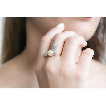 מונקו טבעת בומביי שקיעה עם זירקון אבנים