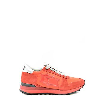 Atlantic Stars Ezbc032017 Damen's Red Suede Sneakers