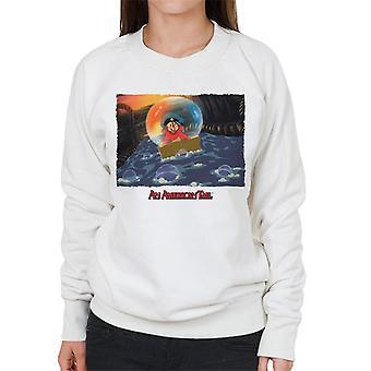 Ein amerikanischer Schwanz Fievel Mousekewitz Stuck In einer Blase Frauen's Sweatshirt