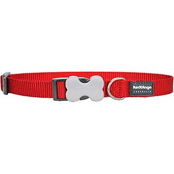 Red Dingo Smooth Nylon Necklace Red (Dogs , Collars, Leads and Harnesses , Collars)
