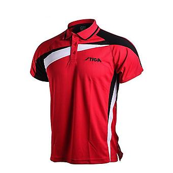 Table Tennis Sportswear Quick Dry Short Sleeved Shirt