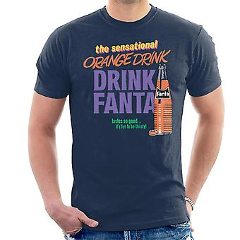 Fanta The Sensational Orange Drink Men's T-Shirt