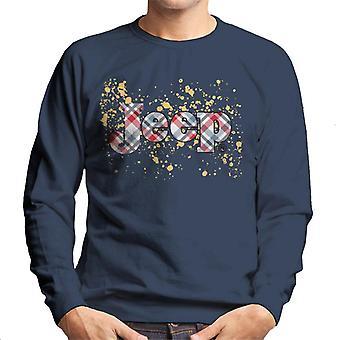 Jeep Splattered Logo Men's Sweatshirt