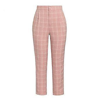 Set pantaloni blazer doppiopetto a maniche lunghe