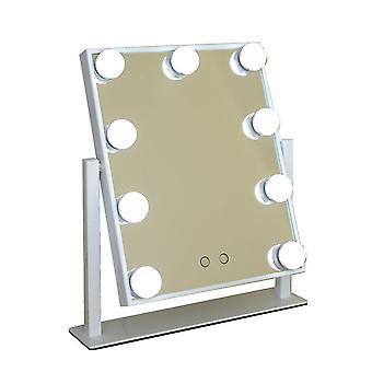 مرآة ماكياج سطح المكتب الدورية
