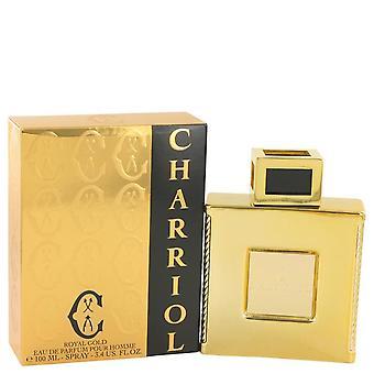 Charriol Royal Gold Eau De Parfum Spray By Charriol 3.4 oz Eau De Parfum Spray