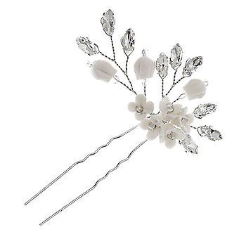 Odolný lehký dekorativní vlasový kolík ve tvaru písmene U pro nevěstu