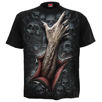 T-shirt med strypare