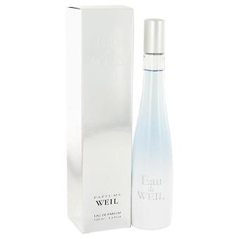 Eau De Weil Eau De Parfum Spray By Weil 3.4 oz Eau De Parfum Spray