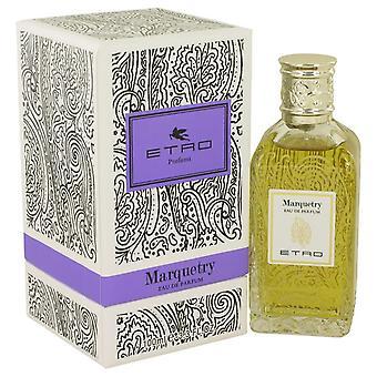 Marquetería de Etro Eau De Parfum Spray (Unisex) por Etro 3.3 oz Eau De Parfum Spray