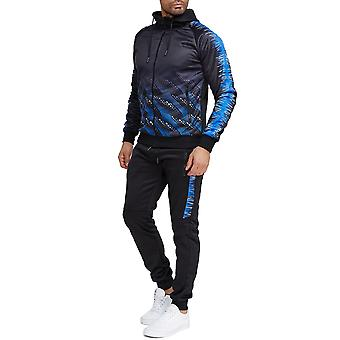 Chándal masculino Fitness Jogging Suit Streetwear Set Sports Outfit Chaqueta y Pantalones