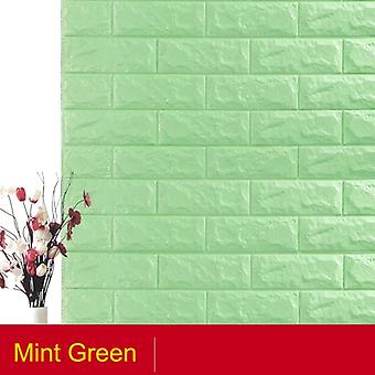 Self Adhesive Waterproof Tv Background Brick Wallpapers, Wall Sticker, Living