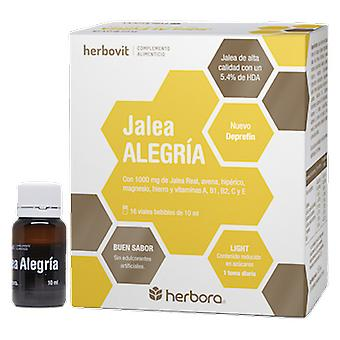 Herbora Herbovit Alegria Jelly 16 Ampoules Buvables x 10 ml