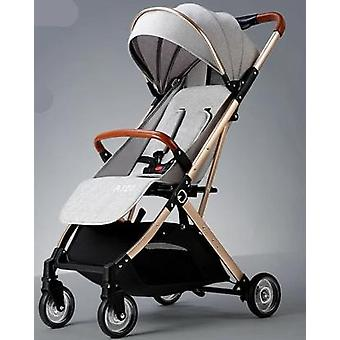 A Baby Stroller Can Sit Reclining Foldable Portable Baby Stroller