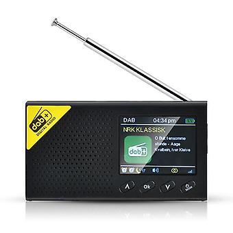 Kannettava Bluetooth Digital Radio Fm -vastaanotin ladattava