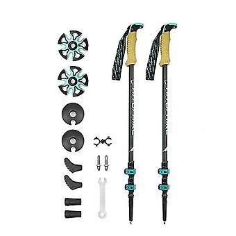 Carbon Fiber - Trekking Stöcke Nordic, Alpenstock Walking Stick