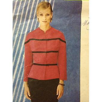 Vogue Naaipatroon 1740 Dames/ Missers Top Rok Maat 14-18 UC Badgley Mischka