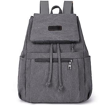 Ladies Canvas Backpack Retro Backpack