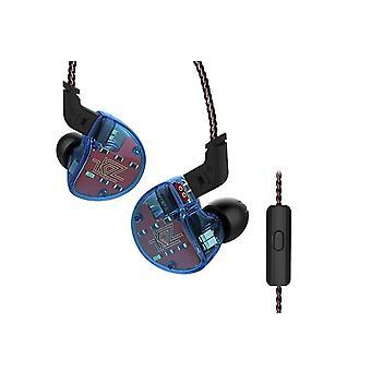 KZ Audio KZ ZS10 - 1DD + 4BA In-ear Monitor earbuds - Blue