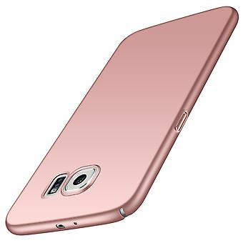 Ultra thin case for samsung s7 edge anti fall shockproof cover rose gold kc672