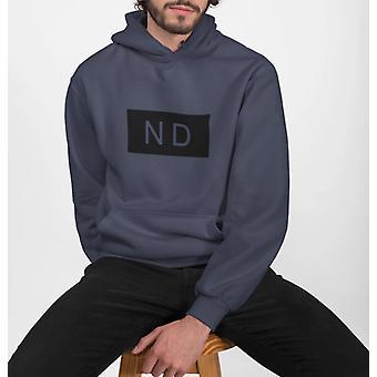 Męska bluza z kapturem w stylu street nd
