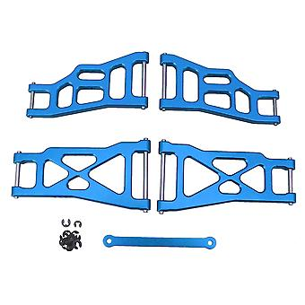 4Pcs Blue RC1:10 Front Rear Lower Suspension Arm Replacement for Traxxas
